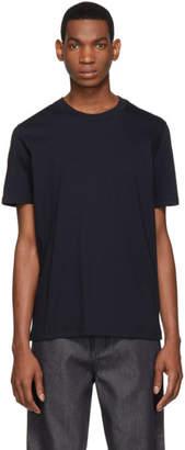 Jil Sander Blue Round Neck T-Shirt