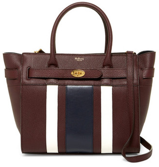 MULBERRY Leather Satchel $1,705 thestylecure.com