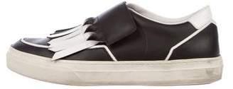Tod's Kiltie Slip-On Sneakers