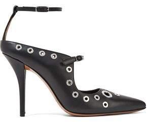 Givenchy Eyelet-Embellished Leather Pumps