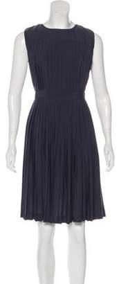 AllSaints Raegan Pleated Dress