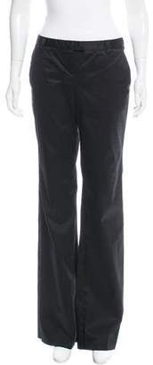 Just Cavalli Mid-Rise Wide-Leg Pants