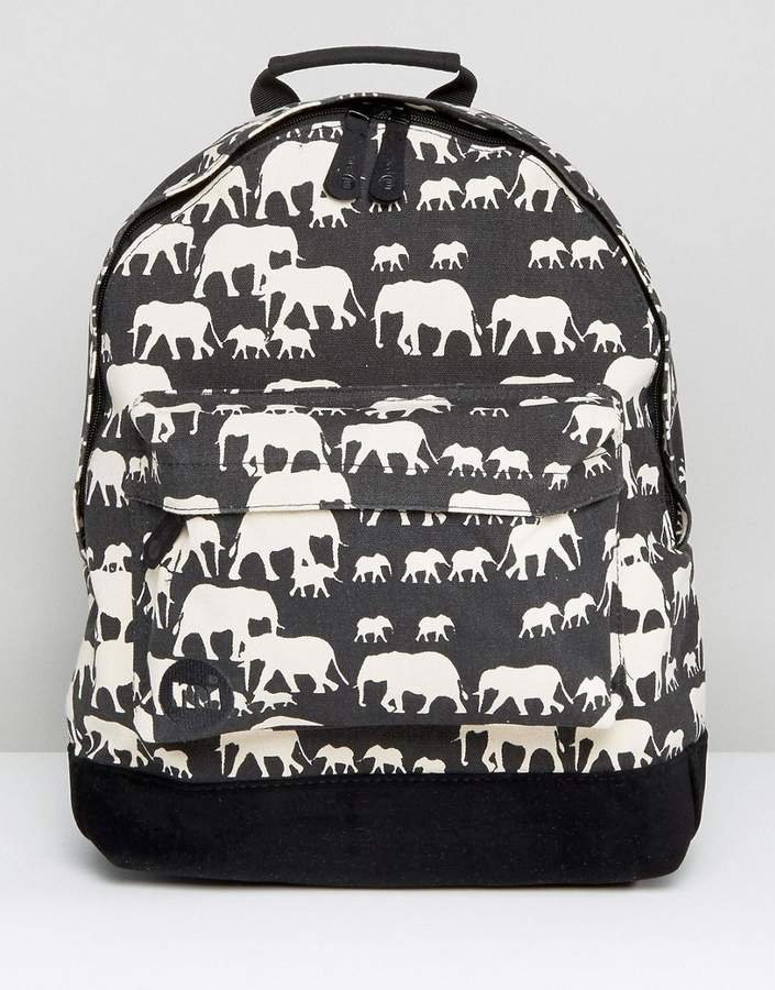 – Rucksack mit Elefantenmuster