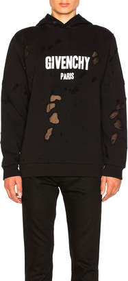 Givenchy Logo Hoodie $1,350 thestylecure.com