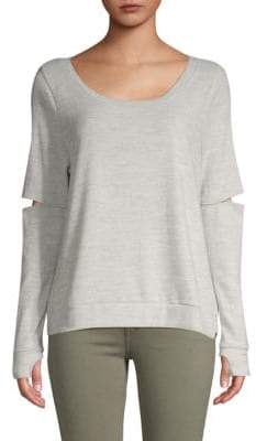 Gottex Cut-Out Elbow Pullover