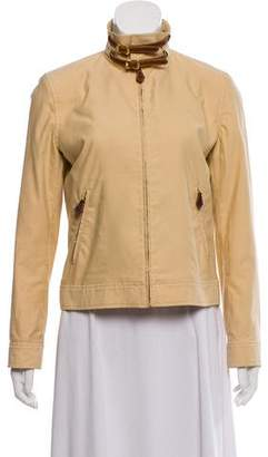 Ralph Lauren Twill Zip-Up Jacket