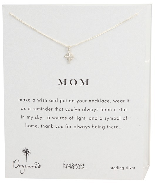 Dogeared Jewels - Mom Reminder Necklace (Sterling Silver) - Jewelry