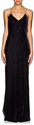 Nili Lotan Women's Bias-Cut Velvet Cami Gown