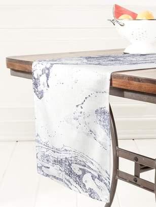 Deny Designs French Linen Marble Table Runner