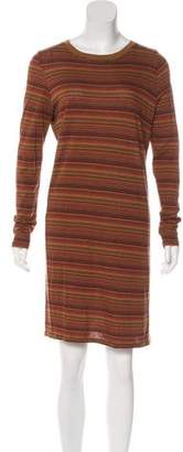 Billy Reid Striped Long Sleeve Dress