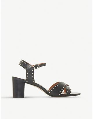 Dune Joyride stud embellished leather sandals