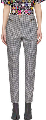 Opening Ceremony Black and White Check Ski Trousers