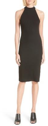 Women's L'Agence Iman Mock Neck Dress $280 thestylecure.com