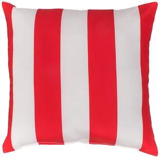 Bambury Outdoor Stripe Cushion, Bumbo Red