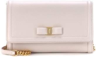 Salvatore Ferragamo Vara Mini leather shoulder bag