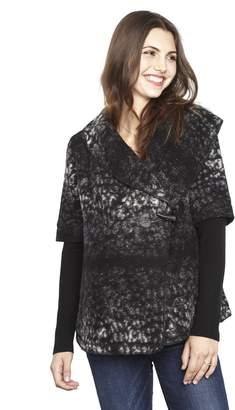 Line Toggle Closure Wool Maternity Jacket