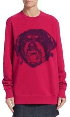 Givenchy Dog Graphic Sweatshirt