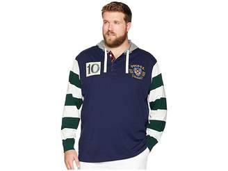 Polo Ralph Lauren Big Tall Hooded Rugby