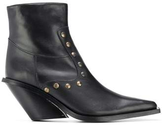 Couture Gia studded ankle boots
