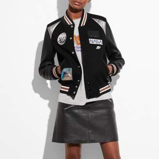 Coach Space Varsity Jacket