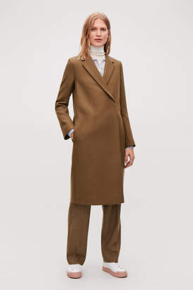 Cos DOUBLE-BREASTED WOOL COAT