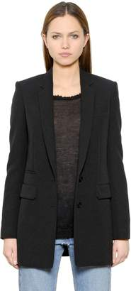 Helmut Lang Stretch Viscose Blend Suiting Jacket
