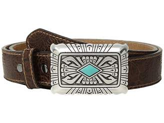 Ariat Scroll Embossed Square Buckle Belt