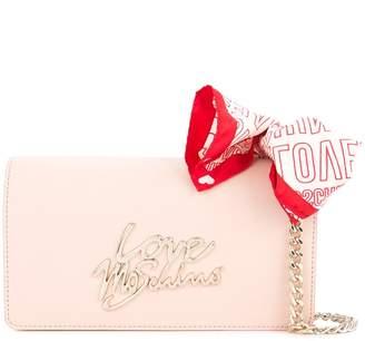 Love Moschino bandana-detail crossbody bag
