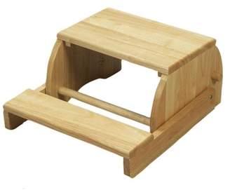 Gift Mark Giftmark Large Childrens Flip stool-Finish:Natural