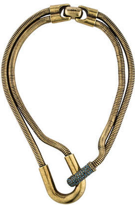 Giles & Brother Double Strand Crystal Necklace $145 thestylecure.com