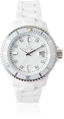 Toy Watch Toy Women's PCLS02WH Quartz Dial Plastic Dial Watch
