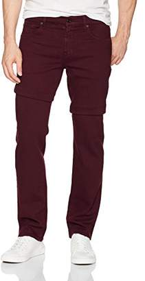 7 For All Mankind Men's Tapererd Straight Leg Lux Performance Sateen Pants