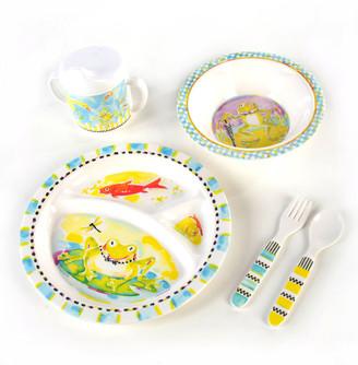 Mackenzie Childs Boys' Frog Dinnerware Box Set