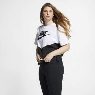 Nike Women's Short-Sleeve Top (Plus Size Sportswear Heritage