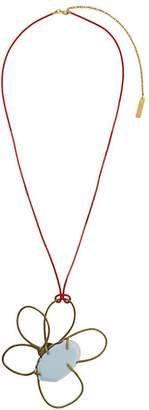 Marni floral pendant necklace