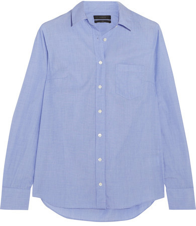 J.Crew - Everyday Cotton Shirt - Blue