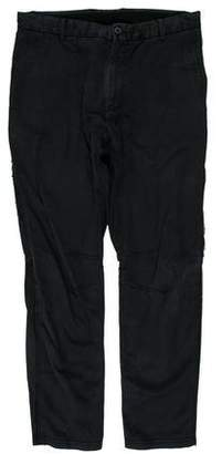 Lanvin Raw-Edge-Trimmed Cropped Pants