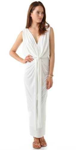 T-Bags Tbags los angeles Stretch Maxi Dress