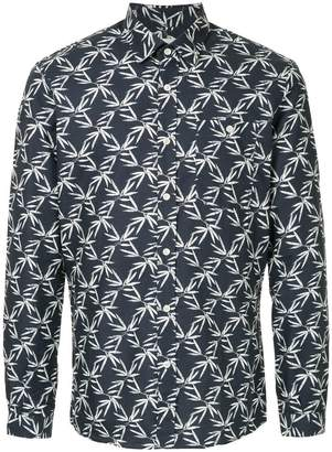 The Goodpeople bamboo leaf print shirt