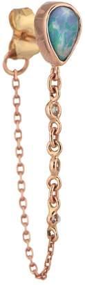 Celine Daoust Pear Opal and Diamond Single Earring