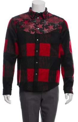 Valentino Plaid Buffalo Shirt Jacket