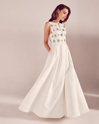 Ted Baker ZAMISA Embellished detail bridal dress