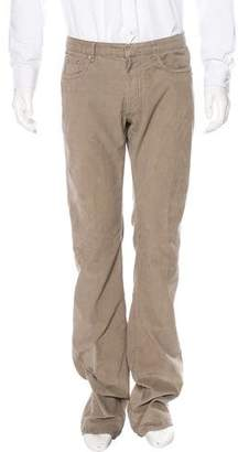 Christian Dior Straight-Leg Corduroy Pants