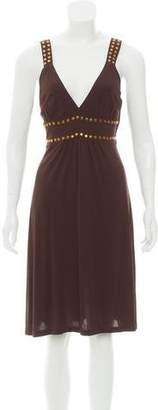 Michael Kors Embellished A-Line Dress