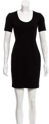 Theory Short Sleeve Mini Dress