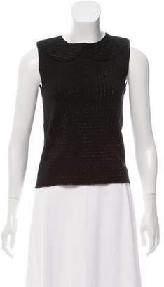 Thom Browne Sleeveless Knit Top