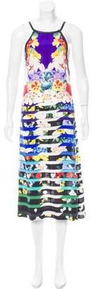 Mary Katrantzou Silk Floral Print Dress w/ Tags