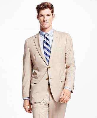 Brooks Brothers Fitzgerald Fit Wool Poplin Suit