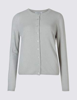 Marks and Spencer CashmilonTM Round Neck Cardigan