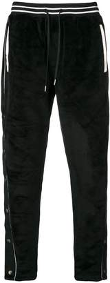 Stampd velvet tracksuit trousers